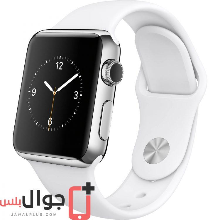 320e690266869 سعر ومواصفات ساعة Apple Watch 38mm - مميزات وعيوب آبل ووتش 38 ملم ...