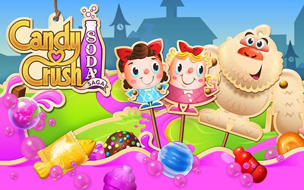 لعبة كاندي كراش صودا للاندرويد - Candy Crush Soda