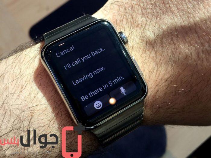 f8c63aa67 سعر ومواصفات Apple Watch 42mm - مميزات وعيوب ساعة ابل ووتش 42 مم ...