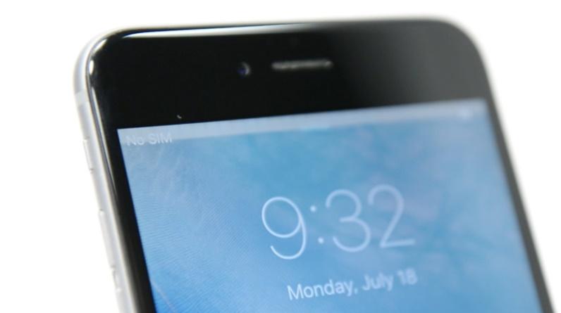 مشكلة الشاشة فى iPhone 6 Plus