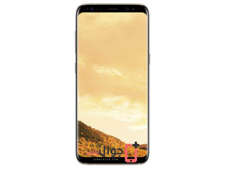صور موبايل Galaxy S8 اللون الذهبي