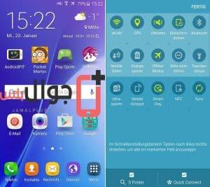 مراجعة موبايل Samsung Galaxy A5 2016 .. واجهة الموبايل