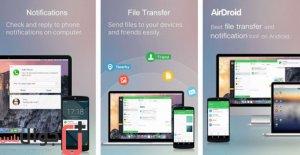 تطبيق AirDroid للاندرويد