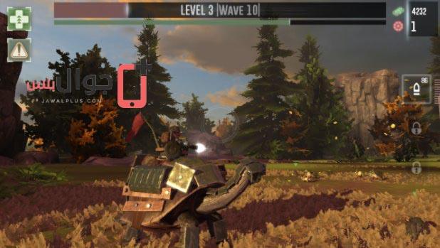 تحميل لعبة War Tortoise للاندرويد والايفون
