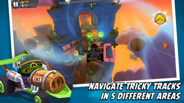 تحميل لعبة Angry Birds Go مجانا