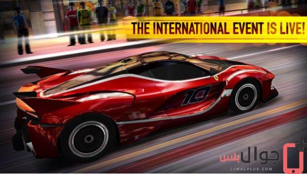 تحميل لعبة CSR Racing للاندرويد مجانا