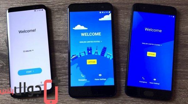 مقارنة بين Galaxy S8 و OnePlus 5 و HTC U11