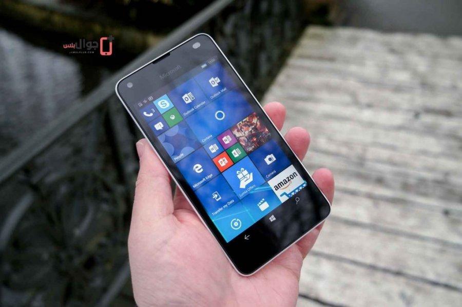 شاشة هاتف Lumia 550