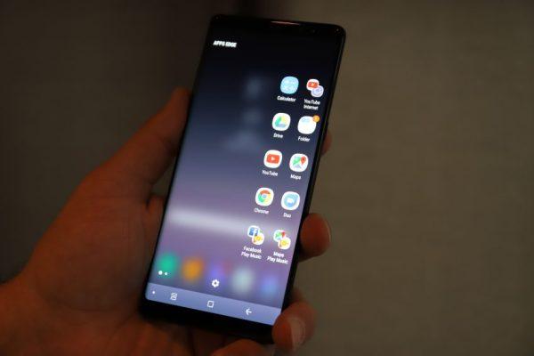 Galaxy Note 8 App Pairing