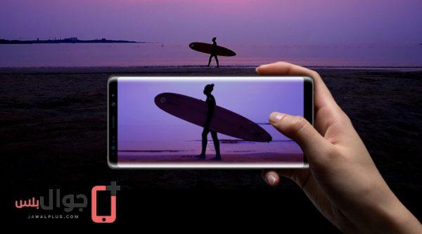 كاميرا سامسونج نوت 8 تتربع على عرش المركز الاول على مؤشر DxOMark