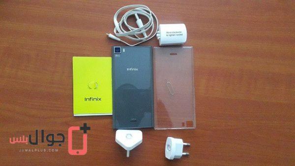 محتويات علبة موبايل Infinix Zero 3
