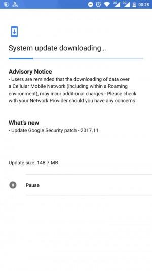 تحديث Nokia 6 لشهر نوفمبر 2017