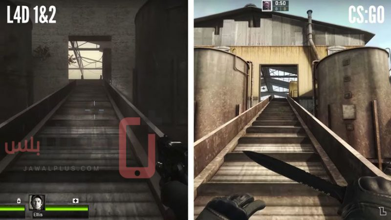 Counter Strike vs Left 4 Dead