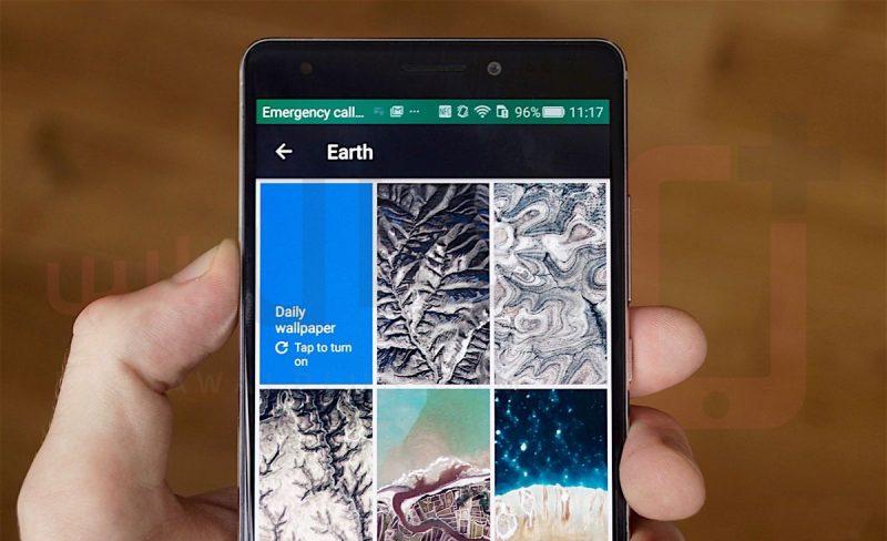 Google's Wallpapers app