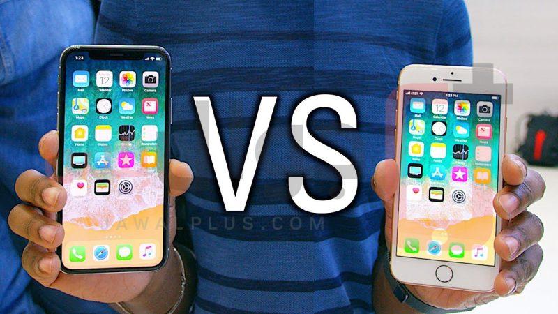 أبرز 7 فروقات بين ايفون X وآيفون 8 من جوال بلس Seven Differences Between iPhone X and iPhone