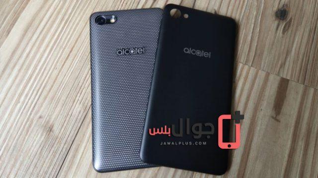 الواجهة الخلفية لموبايل Alcatel A5 LED