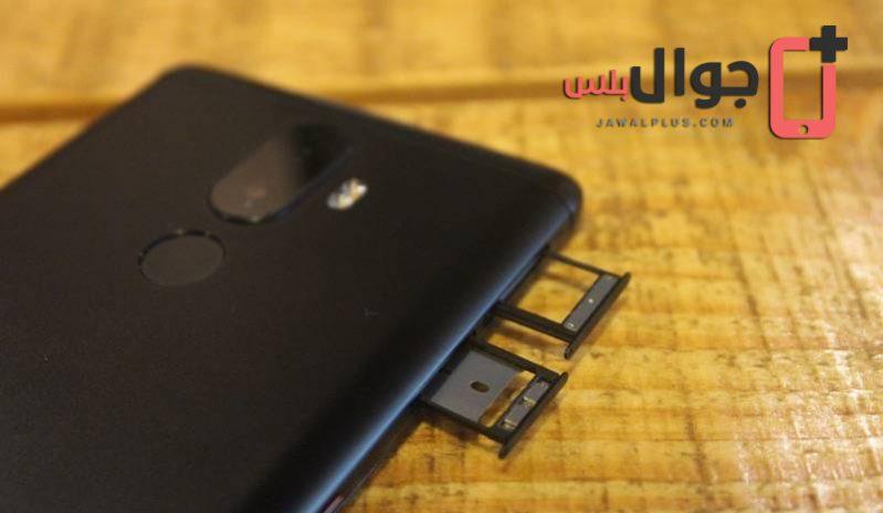 منفذ شريحتي المكالمات مع بطاقة الذاكرة الخارجية في موبايل K8 Note