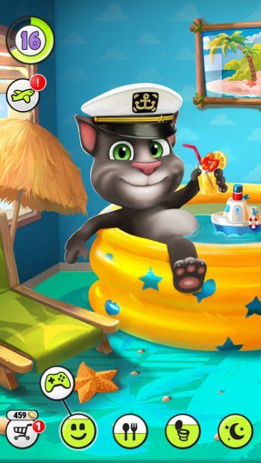 تحميل لعبة القط الناطق للايباد