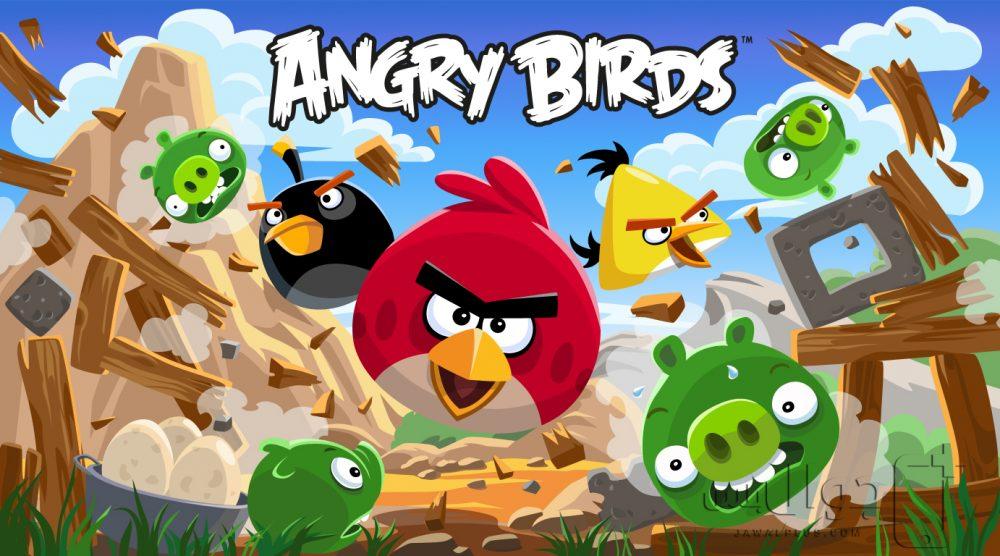 تحميل لعبة انجري بيردز للايفون مجانا برابط مباشر - Angry Birds