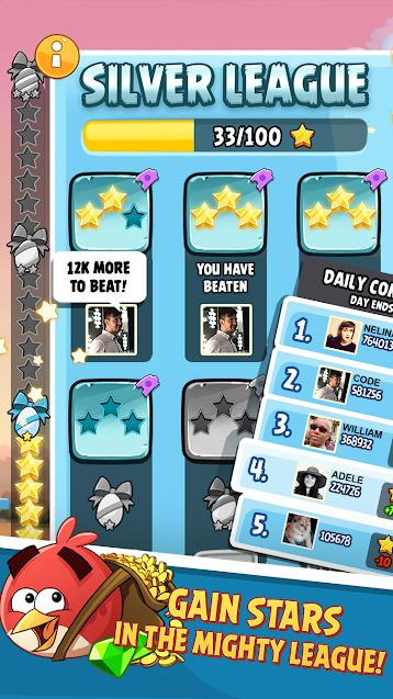 تحميل لعبة angry birds 2 مهكرة للكمبيوتر