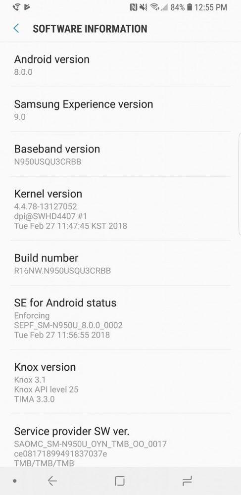 سعر Galaxy Note 8