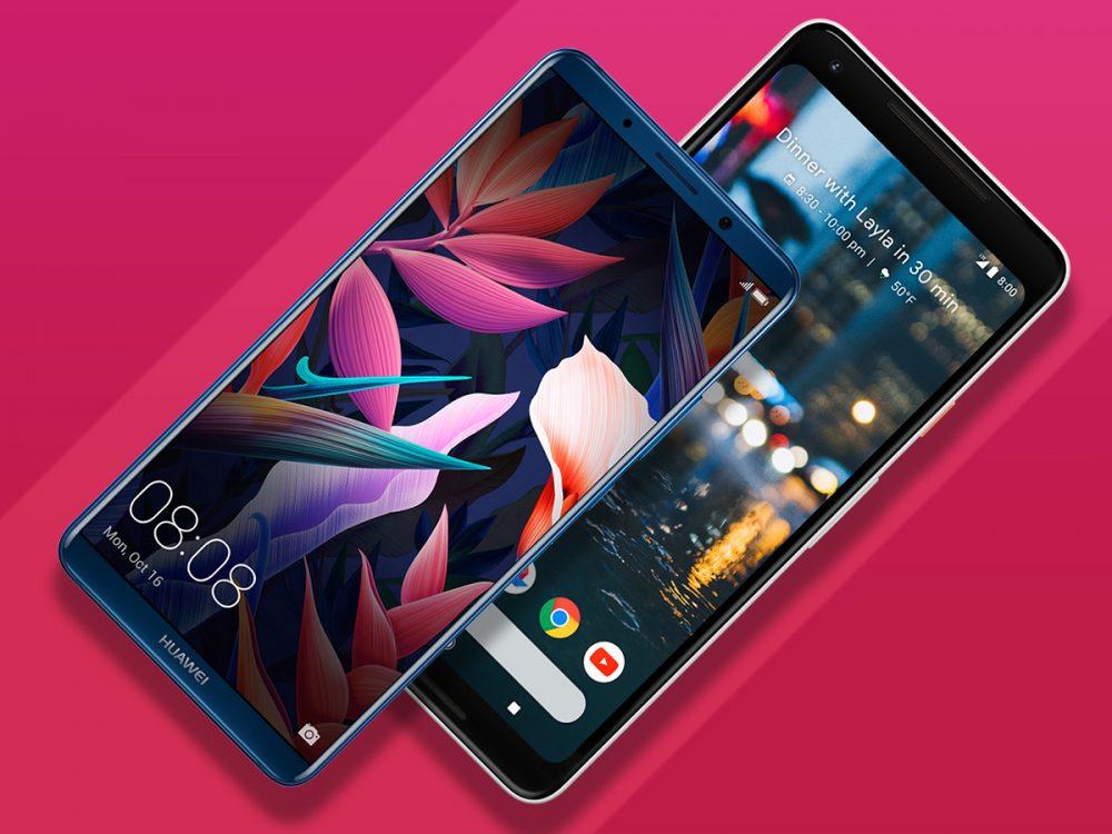 Huawei Mate 10 Pro vs Google Pixel 2 XL