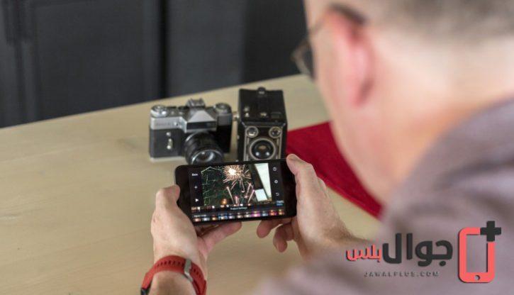 كاميرا ايفون 8 بلس