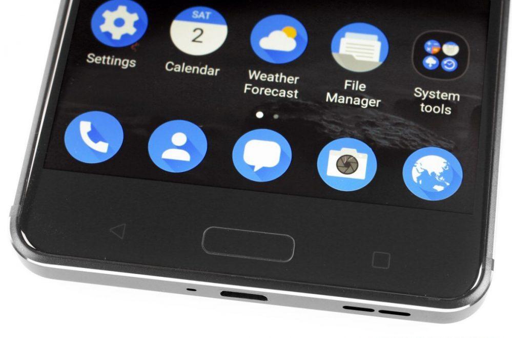 زر الهوم التقليدي اسفل شاشة Nokia 6
