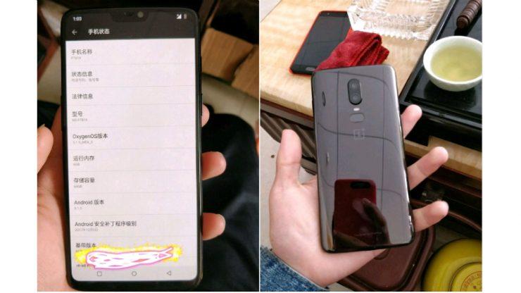 تسريبات OnePlus 6