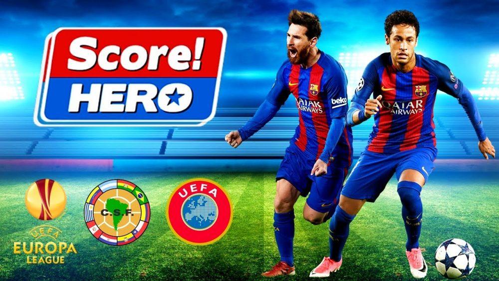 تحميل لعبة سكور هيرو للاندرويد مجانا برابط مباشر - Score! Hero