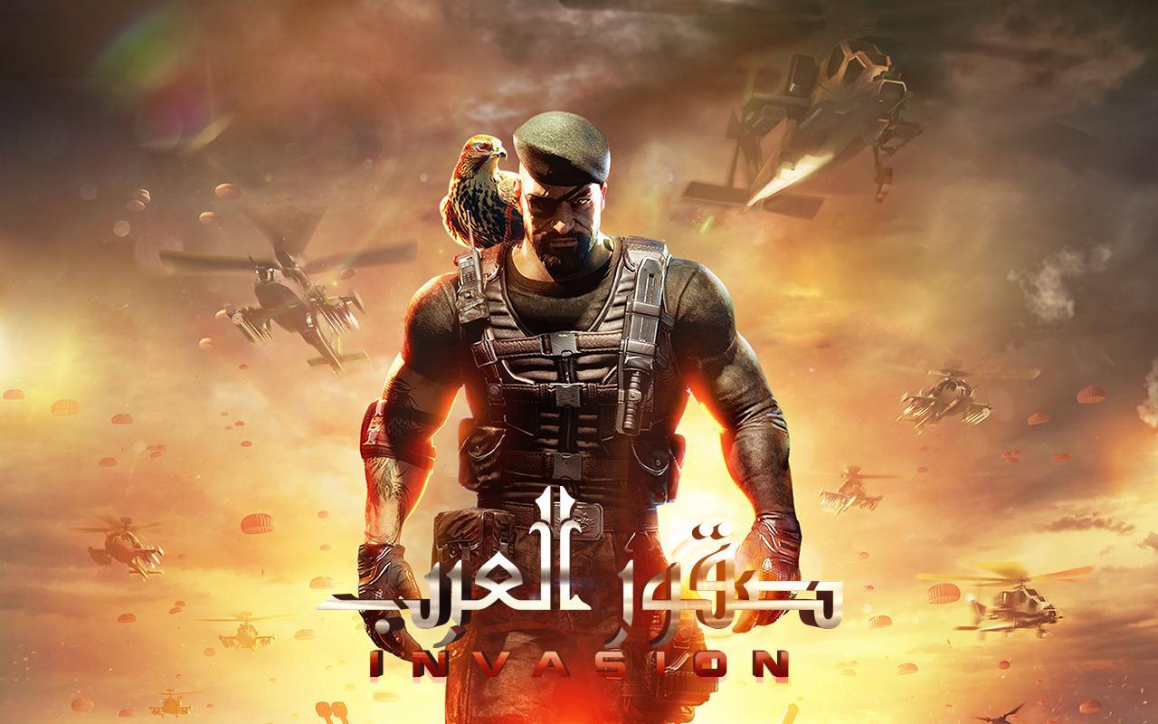 تحميل لعبة صقور العرب للاندرويد مجانا برابط مباشر - INVASION