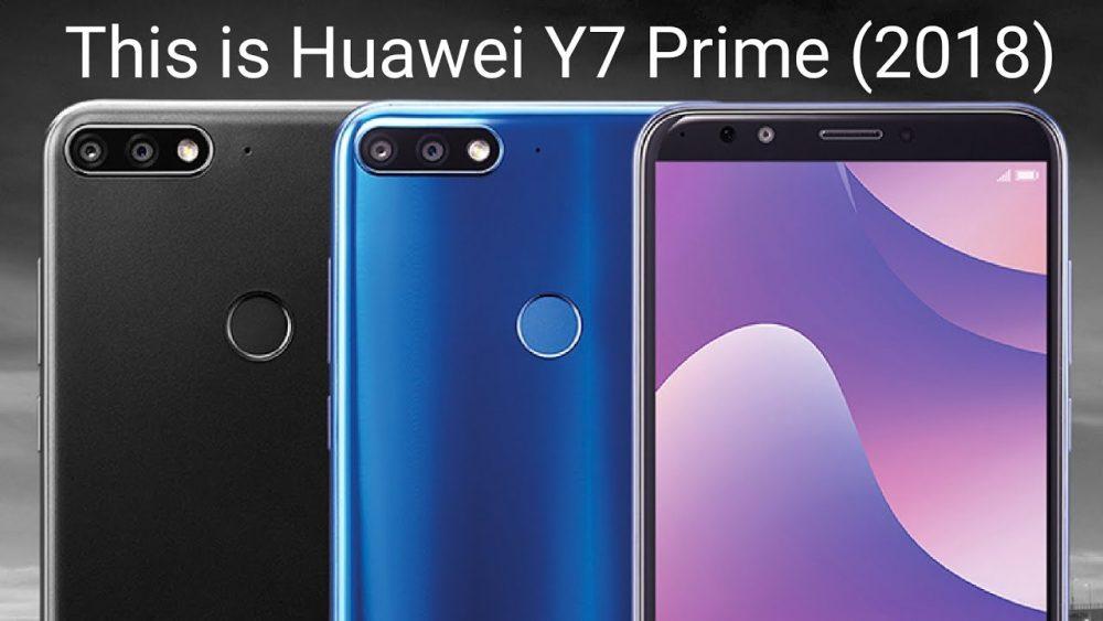 سعر ومواصفات هواوي واي 7 برايم 2018 - مميزات وعيوب Huawei Y7 Prime 2018
