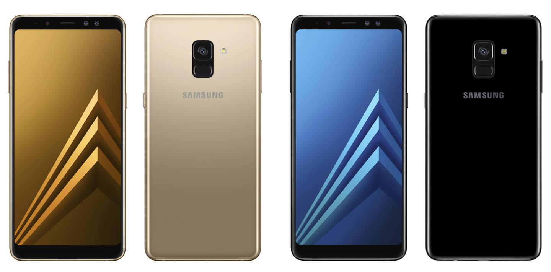 جالاكسي ايه 8 2018 - Samsung Galaxy A8 2018