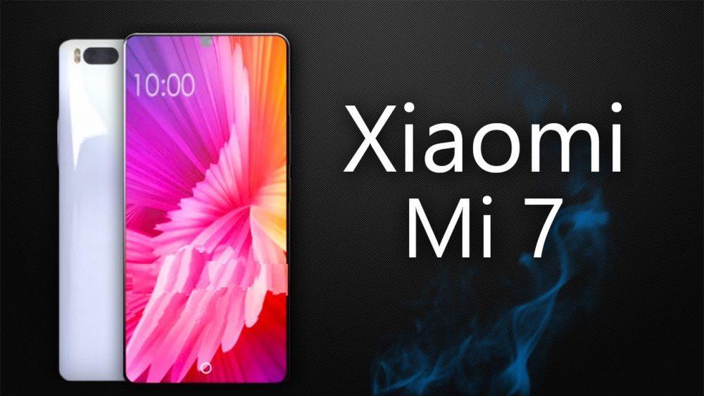 جوال شاومي مي 7 سيأتي مع بصمة اصبع مدمجة بالشاشة - Xiaomi Mi 7
