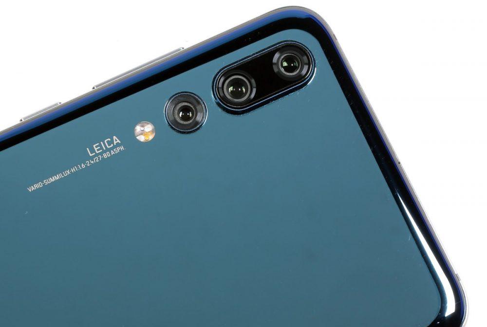كاميرا Huawei P20 Pro الثلاثية الخلفية