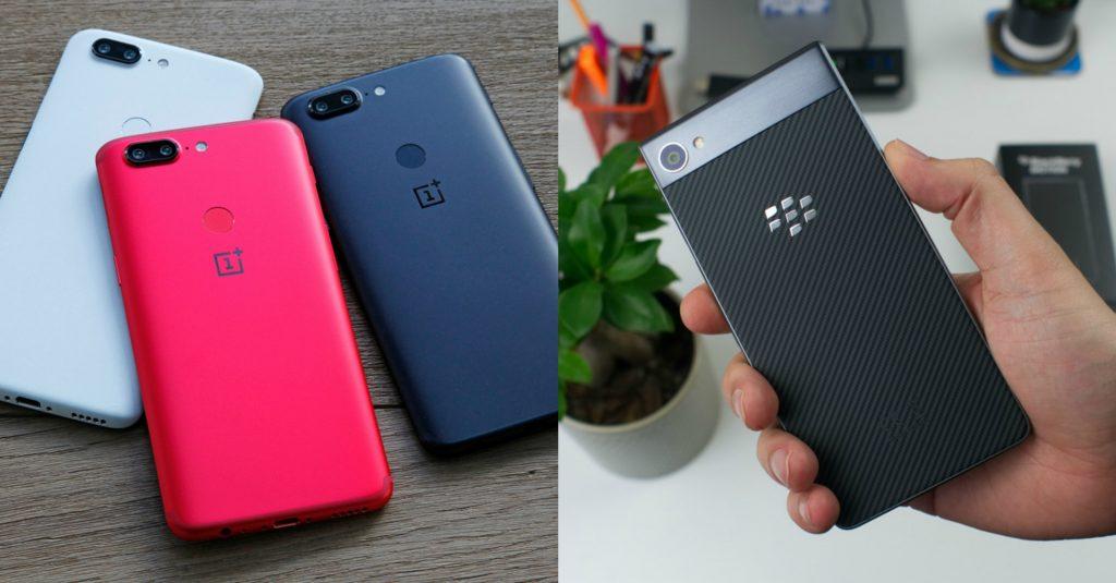 Oneplus 5T VS BlackBerry Motion
