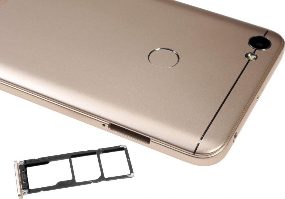 منفذ بطاقات الذاكرة في Xiaomi Redmi Note 5A