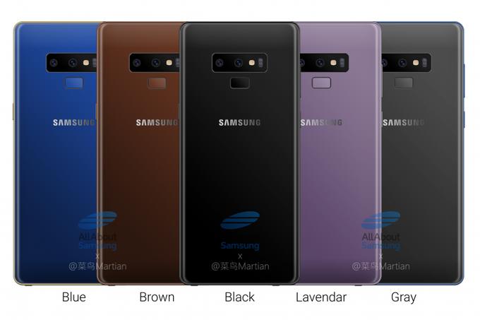 جميع تسريبات Galaxy Note 9 من صور ومواصفات وميعاد الاعلان عنه رسميا