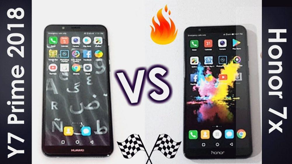مقارنة بين Honor 7C و Y9 2018