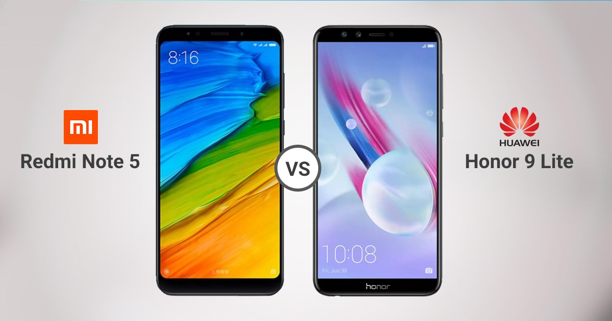 مقارنة بين Honor 9 Lite و Redmi Note 5