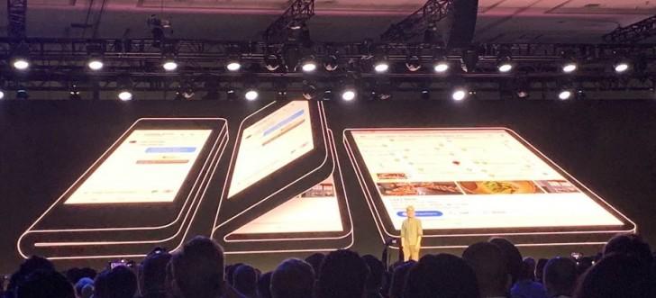 سامسونج تعلن عن هاتف قابل للطي وواجهة جديدة في SDC 2018