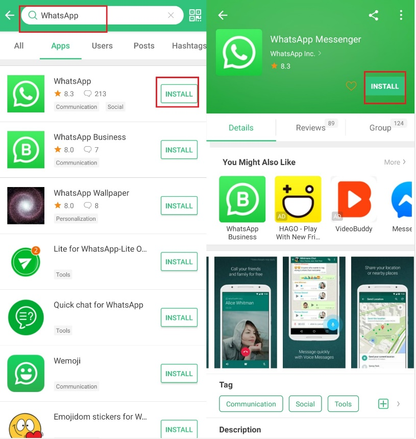 Whatsapp for Honor 9X Pro