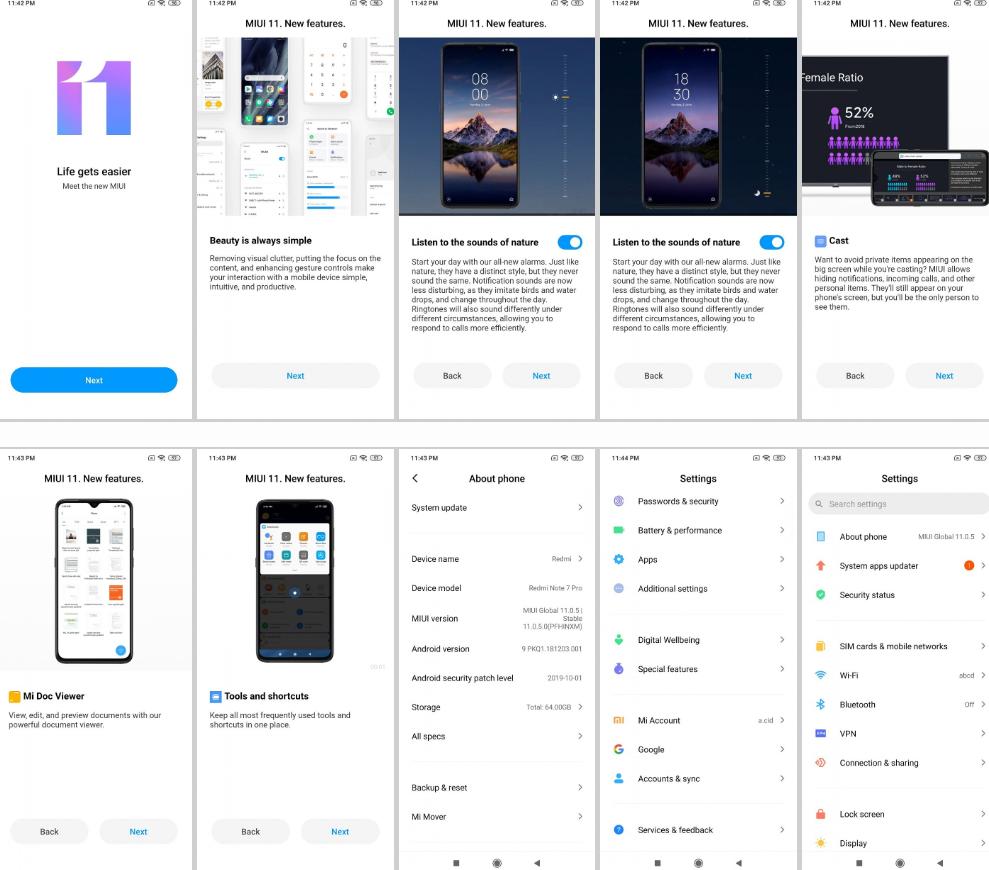 Redmi Note 7 Pro Updates