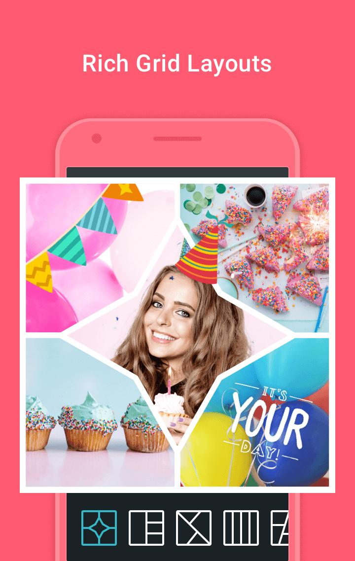 Photo Grid Video Collage Maker