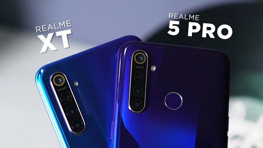 Realme XT vs Realme 5 Pro
