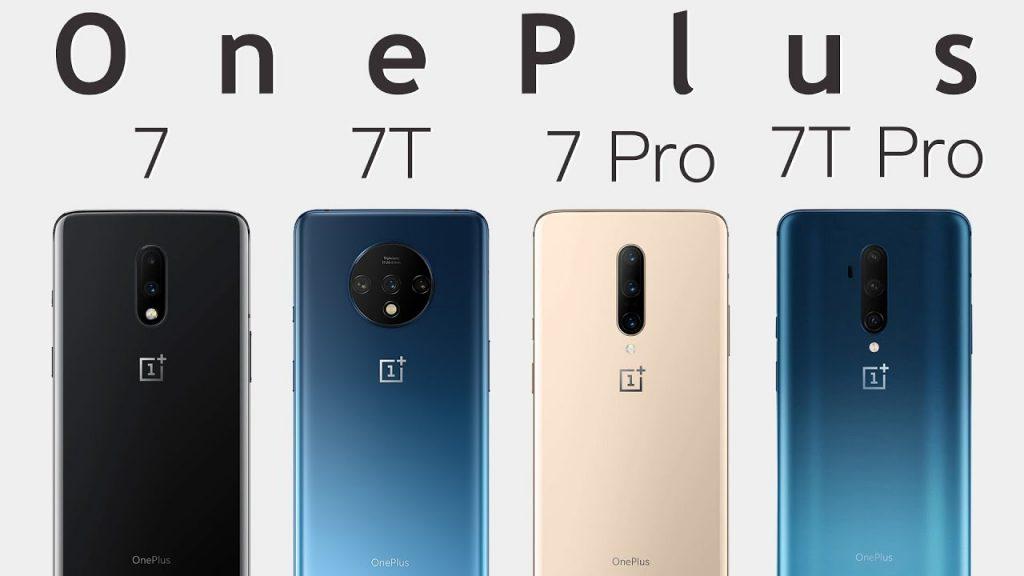 OnePlus 7, OnePlus 7T Series