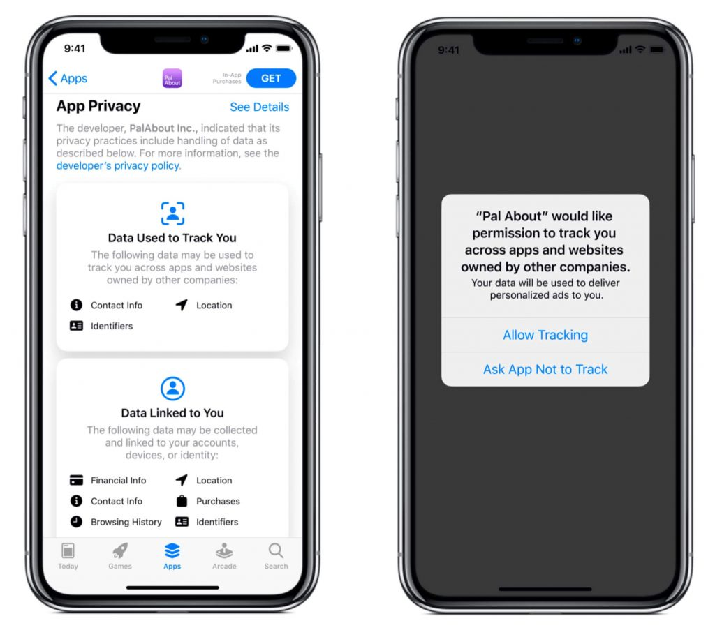 privacy features ios 14