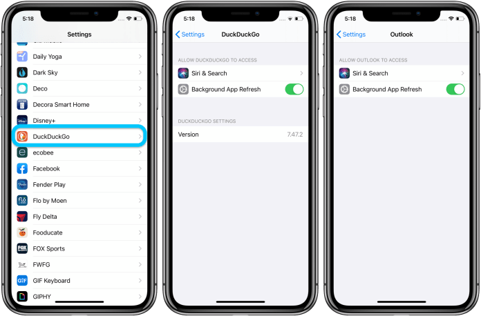 Default browser and email apps ios 14