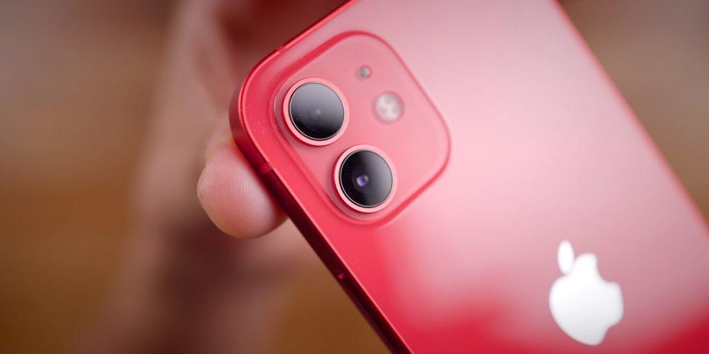 كاميرات آيفون 12 ميني