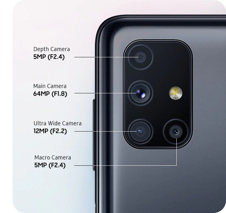 samsung galaxy m51 camera